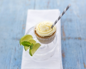 sharingourfoodadventures.com Mojito Cupcakes (courtesy of Good Food Channel)