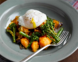Sweet Potato & Broccoli Hash