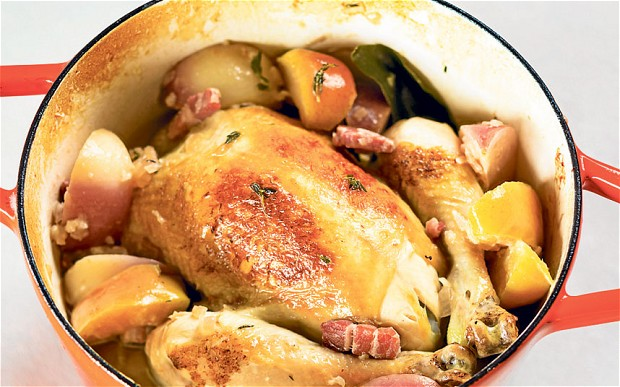 Normandy Pot Roast Chicken