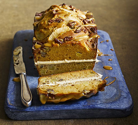 Toffee Apple and Pecan Cake Recipe