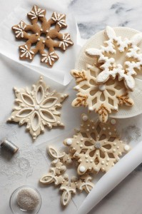 Decorated Snowflake Christmas Cutters