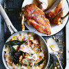 Crispy Chicken Breast with Cauliflower Risotto - courtesy of Donna Hay.