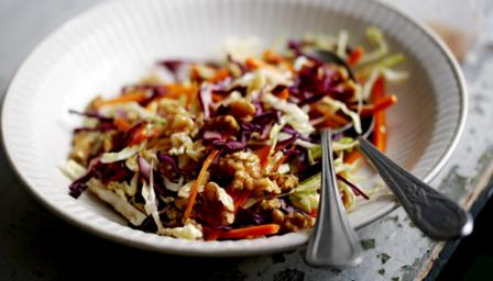 Winter Salad recipe by Nadia Sawalha - Good Food