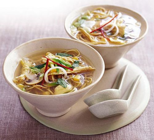 Chicken Noodle Soup - courtesy Mary Cadogan