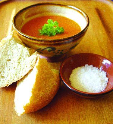Favourite Roasted Tomato & Garlic Soup recipe