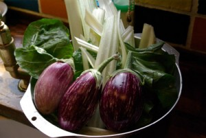 How I long to grow my own Aubergines again.