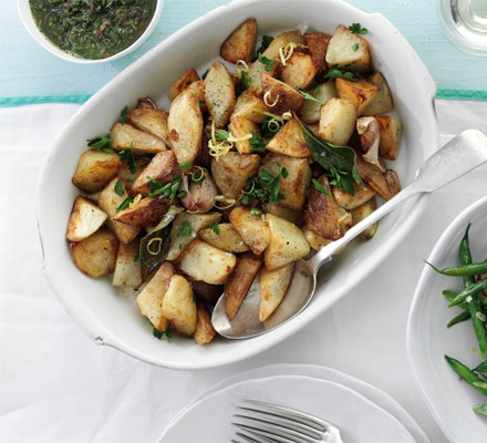 sharingourfoodadventures.com Summer Sauteed Potatoes (Courtesy of BBC Good Food)