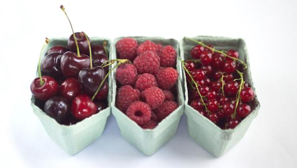 Summer fruits ready to be turned into luscious recipes. Courtesy of BBC Good Food