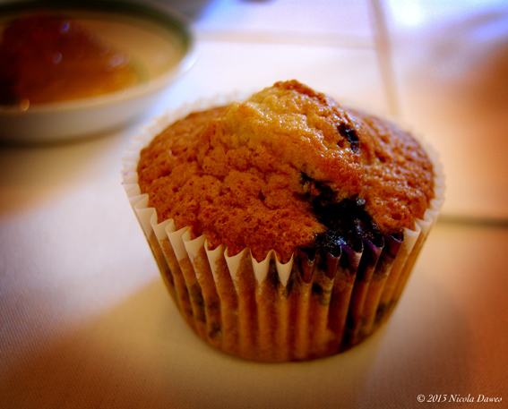 sharingourfoodadventures.com Couldn't you just eat one of Sue's Blueberry Muffins?