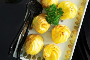 Duchesse Potatoes (courtesy of Taste Au)