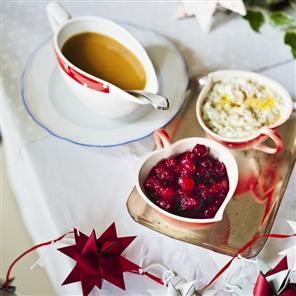 Mulled Cranberry Sauce recipe