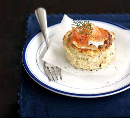 Smoked Salmon Souffles Recipe