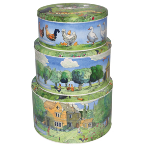 Matthew Rice Set of 3 Cake Tins (from Emma Bridgewater)