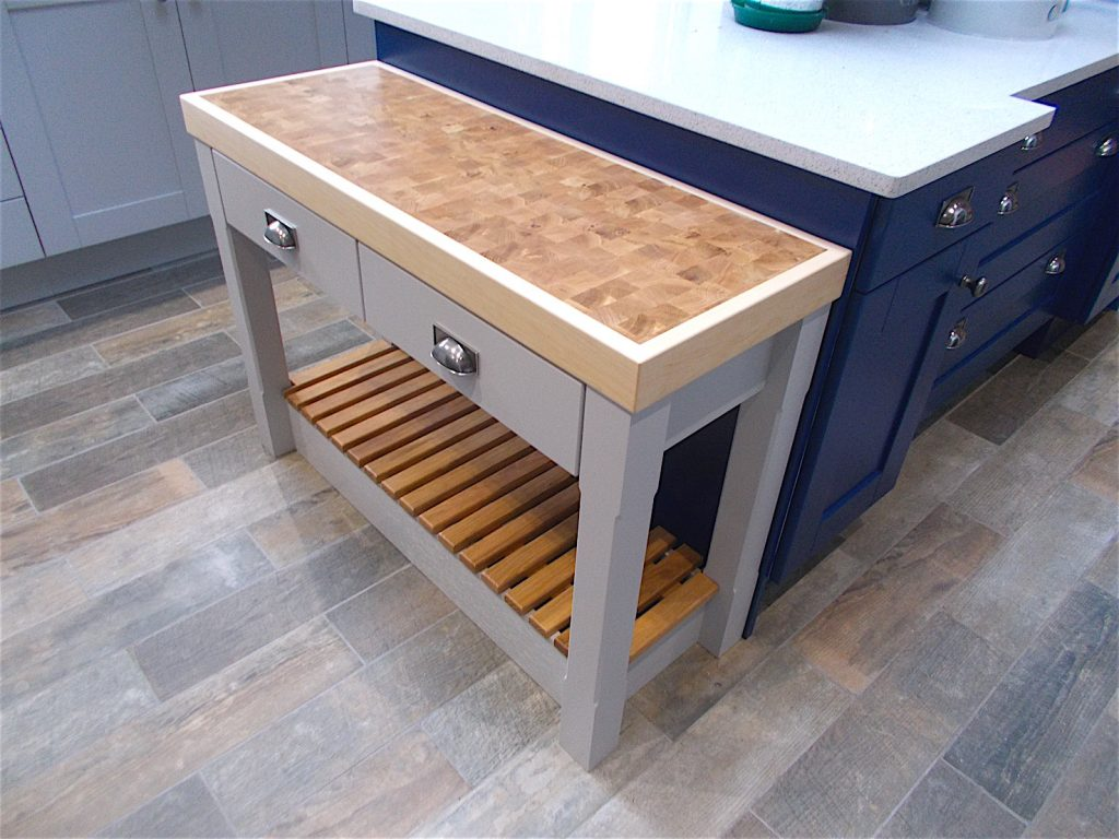 My Dream Kitchen. Amazing butcher's block - just love it.