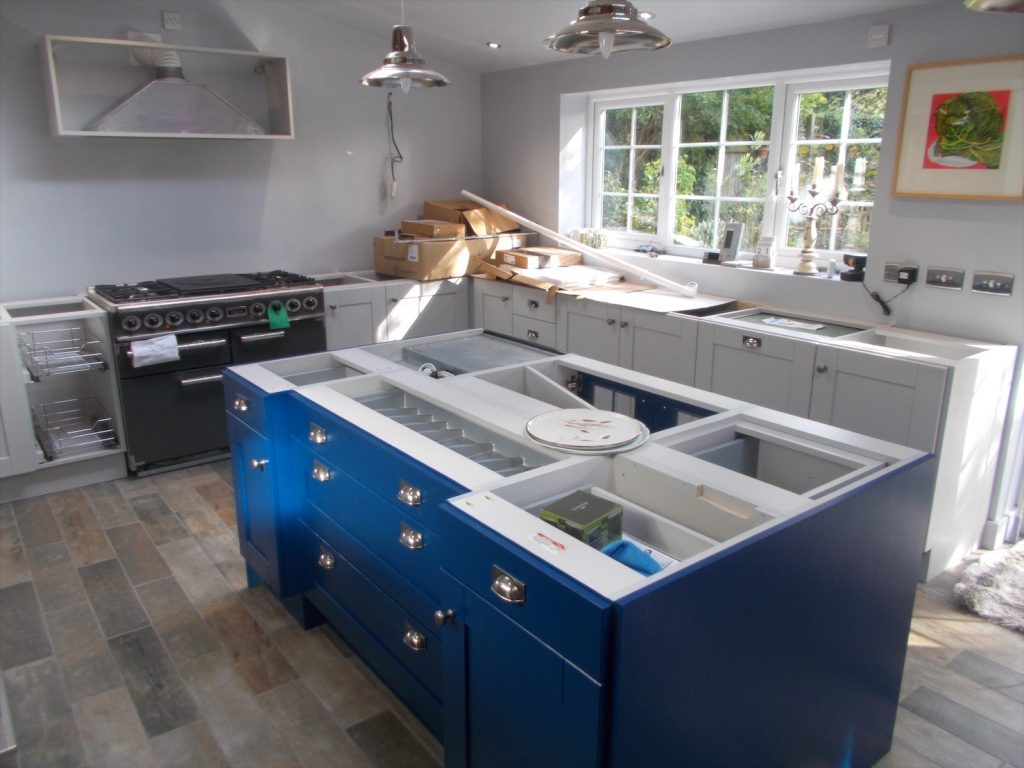 My Dream Kitchen. Cooker and Island in. Wow!