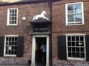 "The White Horse Inn, Beverley - known as ""Nellies"""